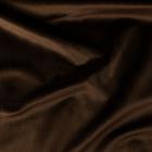 Ткань 50*50 см трикотаж бархат плотный 24321 коричневый 488639