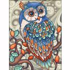 Алмазная мозаика АЖ-1607  «Совушка»