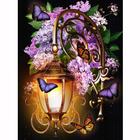 Алмазная мозаика АЖ-1722  «Фонарь в сирени»