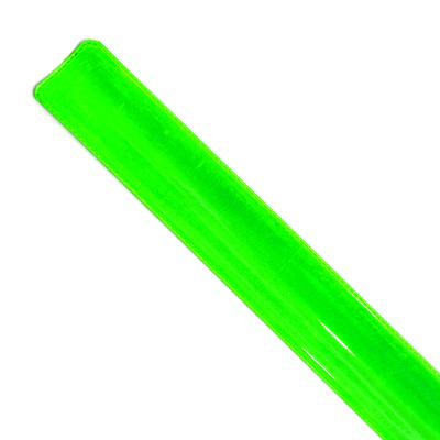 Светоотражающий браслет-полоска 3*30 см салатовый в интернет-магазине Швейпрофи.рф