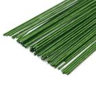 Проволока флорист. 30 см 62220080  0,80 мм (уп. 35 шт.) зеленый