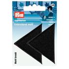 Термоаппликация 925466 «Треугольники» Prym черный  (уп 2 шт) 343184