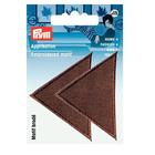 Термоаппликация 925469 «Треугольники» Prym коричневый  (уп 2 шт) 7704993