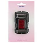 Фаст 3,0 см MF4800 черный с крас.отражающим эл.  (уп.1 шт. в блистере)