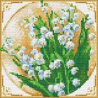 Алмазная мозаика АЖ-1443 «Первые ландыши»