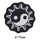 Термоаппликация HP 7724528 «Инь-Янь» 7 см