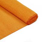 Бумага гофр. (Италия) 140 г/м2  ZA (0,5*2,5 м ) 976 св.оранжевый