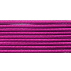 Шнур резиновый 2.5 мм Тур. №145 малиновый рул. 100 м