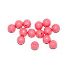 Бусины пластм.  5-6 мм (уп. 10 г) 002 розовый матовый