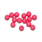 Бусины пластм.  5-6 мм (уп. 10 г) 021 яр.розовый матовый