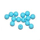 Бусины пластм.  5-6 мм (уп. 10 г) 013 голубой матовый