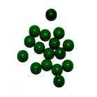 Бусины пластм.  8 мм (уп. 10 г) 012 зеленый матовый