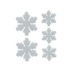 Набор наклеек 547538 светоотражающие «Снежинки»