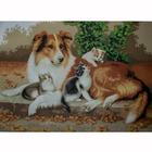 Рисунок на канве Гелиос Ф-072 «Заботливая мама»
