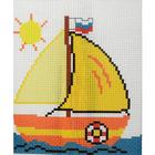 Набор для вышивания Гелиос № 12 «Парусник» 18*20 см