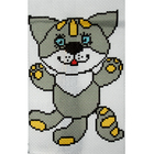 Набор для вышивания Гелиос № 57 «Волчонок» 18*20 см