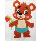 Набор для вышивания Гелиос № 21 «Медвежонок» 18*20 см
