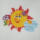 Набор для вышивания Гелиос № 02 «Солнышко» 18*20 см
