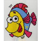 Набор для вышивания Гелиос № 65 «Рыбка» 18*20 см