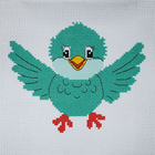 Набор для вышивания Гелиос № 37  «Веселый птенчик» 18*20 см