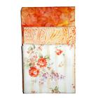 Ткань 55*55 см для печворка PST-2 (3 шт) 087 «Роза оранж»