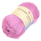 Пряжа Детский хлопок, 100 г / 330 м, 011 ярко-розовый