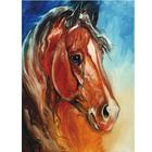 Набор для раскрашивания Molly KH0053  «Рыжий конь»