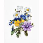 Набор для вышивания Luca-S В2348 «Букет цветов»