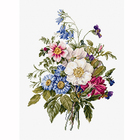 Набор для вышивания Luca-S ВU4004 «Букет летних цветов»