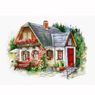 Набор для вышивания Luca-S ВU4005 «Красивый загородный домик»