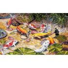 Набор для вышивания Овен №1036 «Девять карпов Кои» 19*29 см