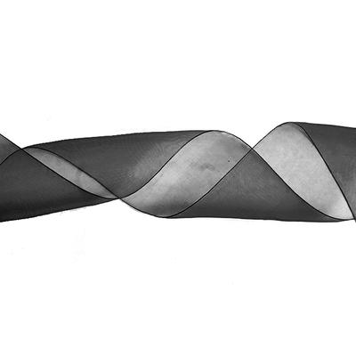 Лента капрон 90 мм.  рул. 45 м чёрный в интернет-магазине Швейпрофи.рф