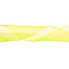 Лента капрон 90 мм.  рул. 45 м лимонный