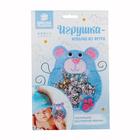 Набор для изготов. игрушки 3889147 из фетра - искалки  «Мишка»