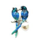 Брошь BR 886 «Птички»