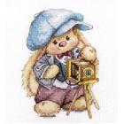 Набор для вышивания Алиса 0-192 «Зайка Ми. Фотограф » 10*13 см
