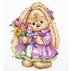 Набор для вышивания Алиса 0-193 «Зайка Ми. Весна » 10*13 см