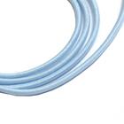 Шнур резиновый 2.5 мм Тур. №184 св.голубой  рул. 100 м