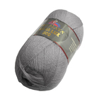 Пряжа Лана люкс 800 (Himalaya Lana Lux 800),  100 г/ 800  74634 св. серый
