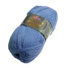 Пряжа Лана люкс 800 (Himalaya Lana Lux 800),  100 г/ 800  74618 т. голубой