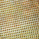 Лента под стразы К  (уп. 9,14 м) шир. 12 см золото