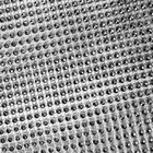 Лента под стразы К  (уп. 9,14 м) шир. 12 см серебро