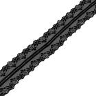Кружево капрон  40 мм TBY-150-1  (уп. 45,7 м) 201 черный