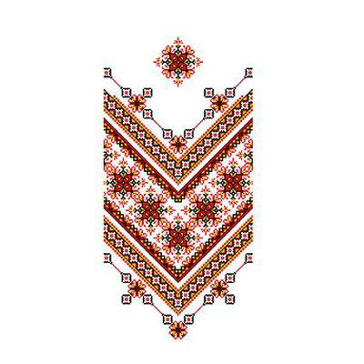 Рисунок для вышивания бисером Каролинка КРК-2005 «Рушник» 37*200 см в интернет-магазине Швейпрофи.рф