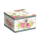 Шкатулка DBK-05 014 «Сундучок Птицы в розах» 24*24*14 см