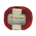 Пряжа Джинс (YarnArt Jeans), 50 г / 160 м, 26 красный