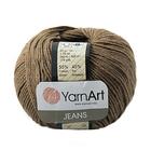 Пряжа Джинс (YarnArt Jeans), 50 г / 160 м, 40 св.-коричневый