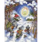 Набор для вышивания М.П.Студия НВ-644 «В канун Рождества» 30*25 см