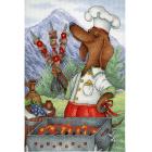 Набор для вышивания М.П.Студия НВ-679 «Обаятельный повар» 20*30 см