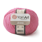 Пряжа Джинс (YarnArt Jeans), 50 г / 160 м, 42 ярко-розовый